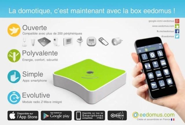 Box domotique eedomus