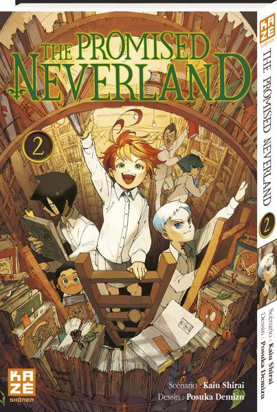 Avis Manga – The Promised Neverland 2