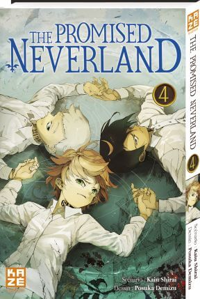 Avis Manga – The Promised Neverland 4