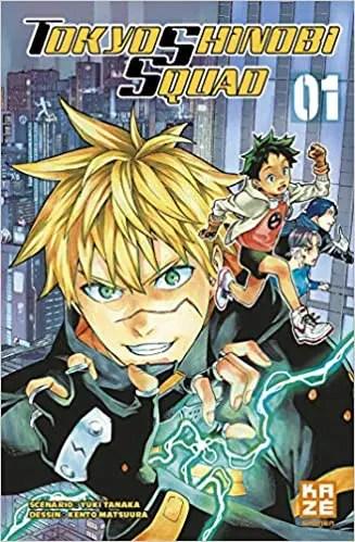 Avis Manga –  Tokyo Shinobi Squad 1