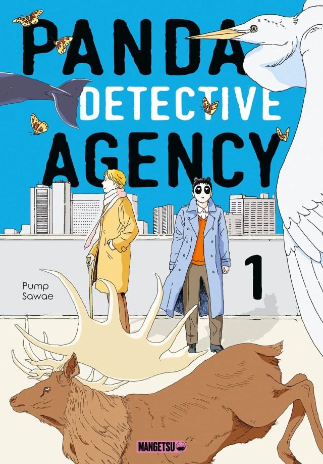 Avis Manga – Panda Detective Agency 1