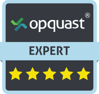 Badge d'expertise qualité web OPQuast