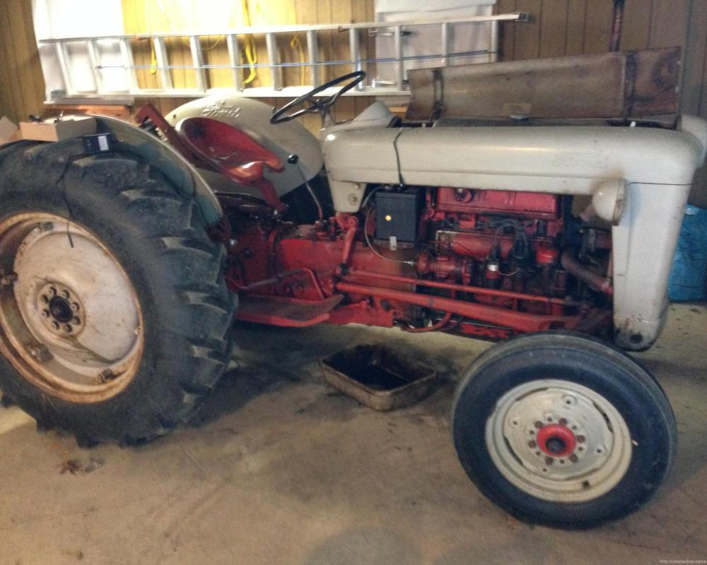 medium resolution of 1953 ford jubilee tractor