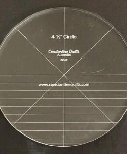 4 1/2in circle