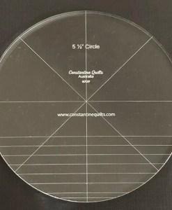5 1/2in circle