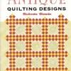 Antique Quilting Designs