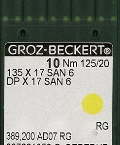 Groz Beckert San6 125/20 needles
