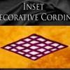 Inset Lattice - Decorative Cording