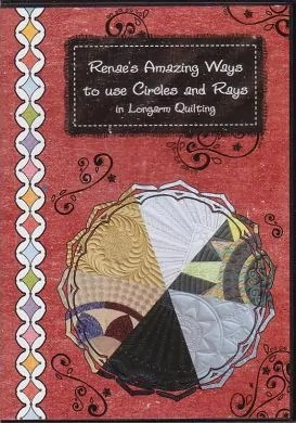Renae's Amazing ways to use Circles and Rays for Longarm Quilting!