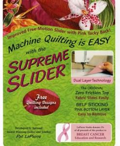 Supreme Free-Motion Slider™
