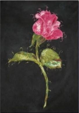 Longarm Applique -The Rose