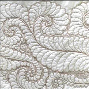 Longarm Couture Feathers CD