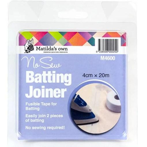 No sew Batting Joiner