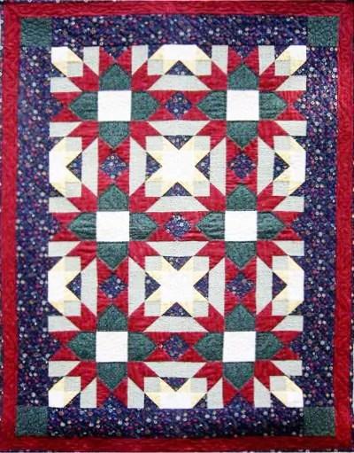 Divided Cross Quilt pattern