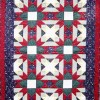 Divided Cross Quilt pattern