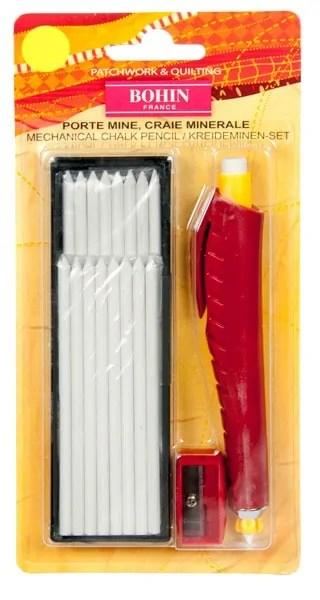 Bohin chalk cartridge pen white