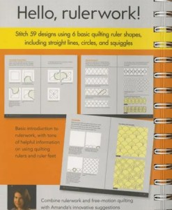 Rulerwork Quilting Idea Book Review