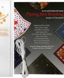 Piping hot binding tool