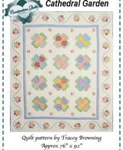 Cathedral Garden Quilt pattern