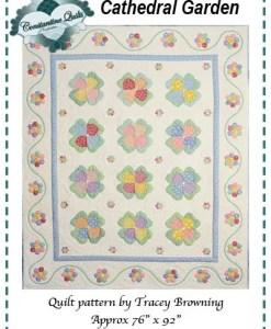 Cathedral Garden Quilt pattern