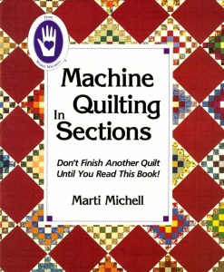 Machine Quilting in Sections
