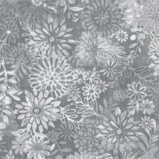 soft grey floral