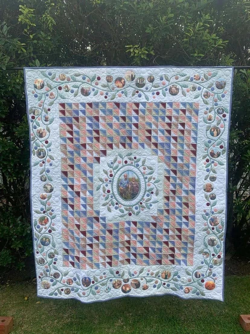 Memorial quilt
