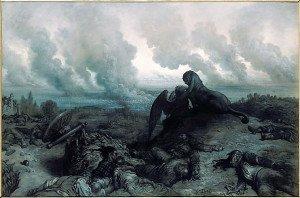 Gustave Doré L'énigme 1871 Orsay