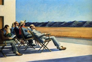 Edward Hopper people-in-the-sun