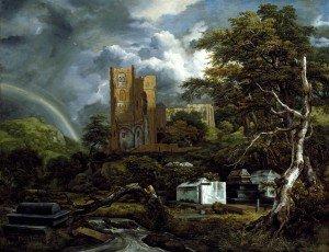 Van Ruisdael Jacob Isaaksz le cimetiere juif