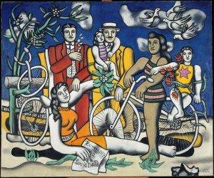 fernand Léger, les loisirs, 1948,