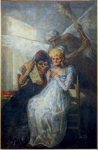 Goya les vieilles ou le temps 1808 lille