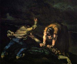 Cézanne, le meurtre