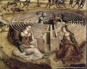 Maître des Cassoni Campana, Thésée et le Minotaure, entre 1510 et 1520[32]
