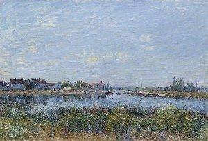 Alfred_Sisley_-_Saint-Mammès_le_matin_(1881)