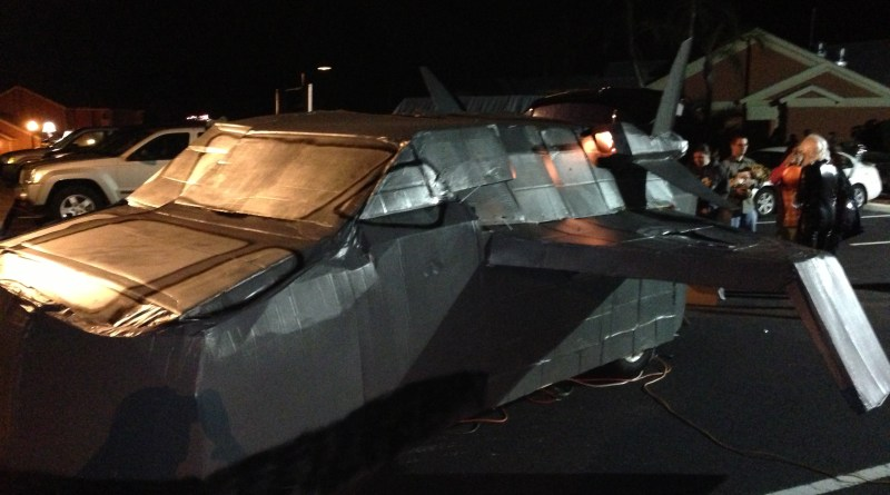 Quinjet Side View
