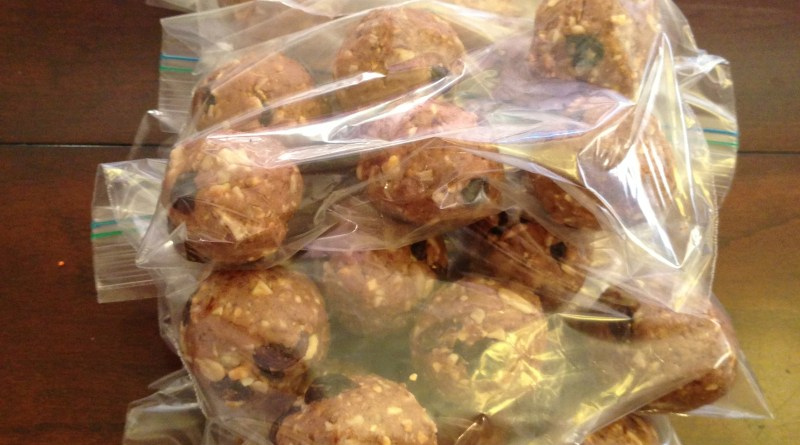 Packaged Protein Balls