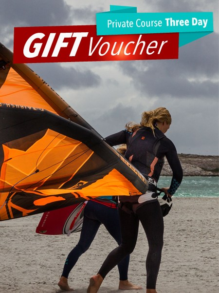 Kiteboarding gift voucher 3 day Langebaan south africa