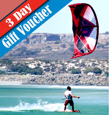 Voucher 3 Day Group Course - Beginner Kitesurfing Course