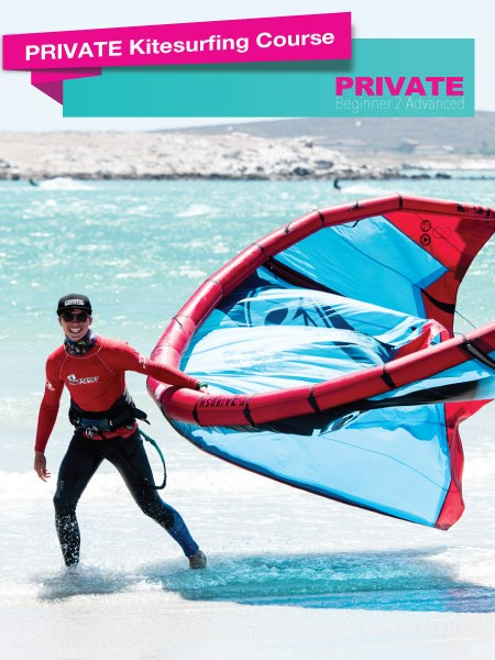 PRIVATE-COURSE KITEBOARDING LANGEBAAN
