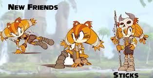 Sticks the Badger Sonic Boom/Synergy