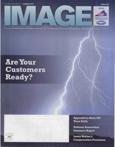 "CWPHCCCover 234x300 - Constant Water Highlighted in PHCC VA ""Image"" Magazine"