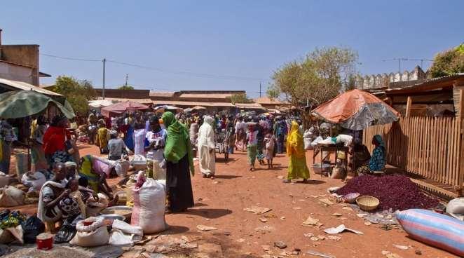 Banfora Market, Ouagadougou, Burkina Faso