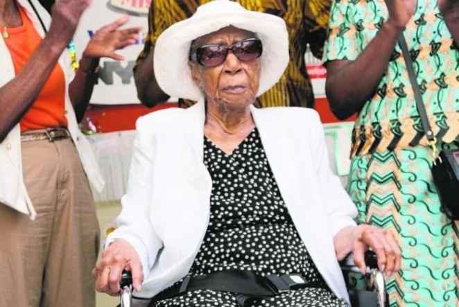 Susannah Mushatt Jones, the world oldest person alive|Photo credit: sites.psu.edu