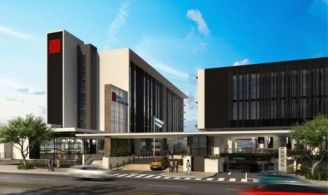 Hilton garden Inn, near Sir Seretse Khama International Airport, Gaborone (Botswana)