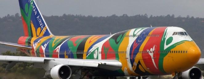 South African Airways Boeing 747