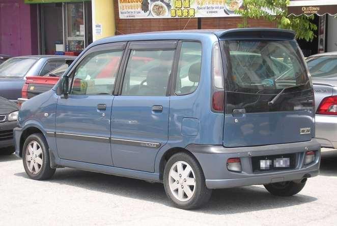 Kenari Perodua | Photo credits: en.wikipedia.org