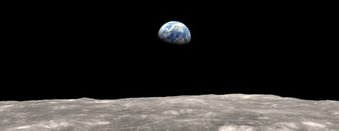 The Moon and The Earth | Photo credit: NASA
