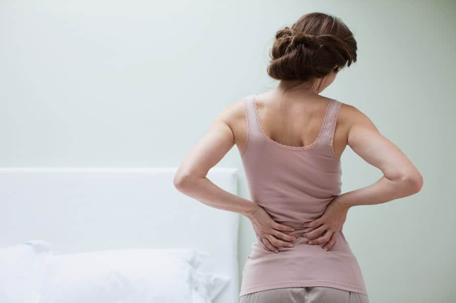 woman pain