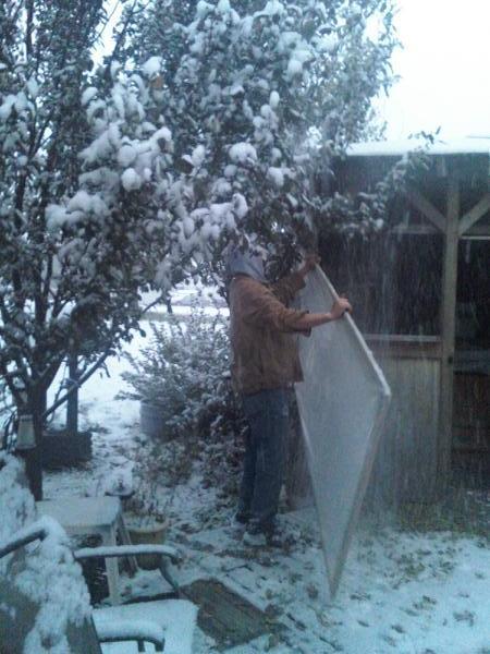 oct 11 snow 2009